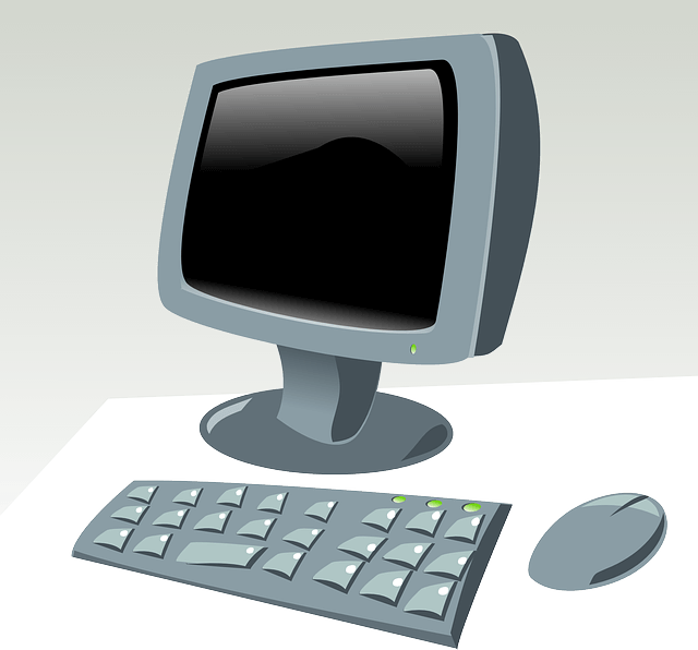 An image of a desktop computer, representing the need for attorneys and law firms to consider the guidelines of ABA Formal Opinion 480 when blogging or making other public commentary.